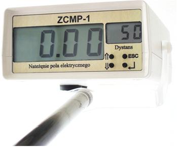 Rys. 1. Widok miernika natężenia pola elektrycznego typu ZCMP-1
